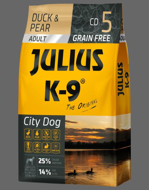 Julius K-9 Duck Pear Dog Food Dry