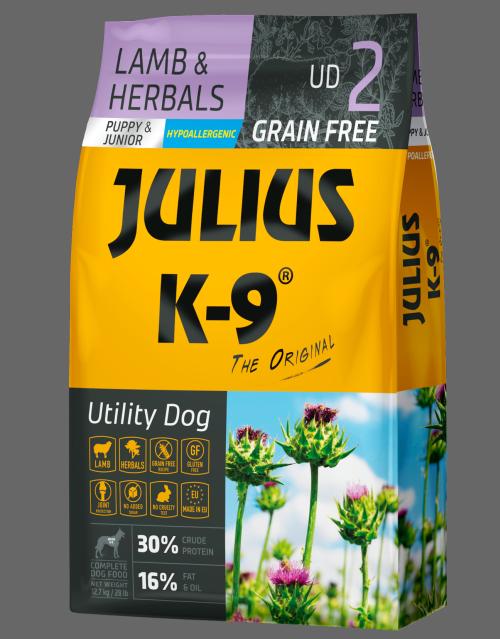 Julius K-9 Lamb Herbals Dog Food Dry