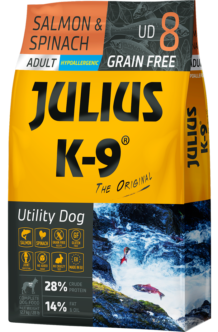 Julius K-9 Salmon Spinach
